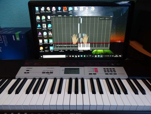 music education with Synthesia
