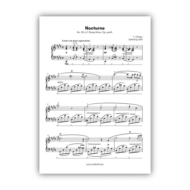 nocturne in C_Sharp minor